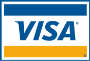 Paiements possible via carte Visa
